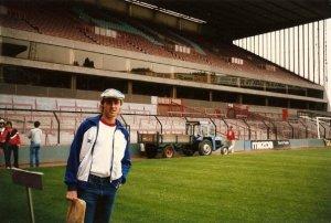 At Villa Park in 1985